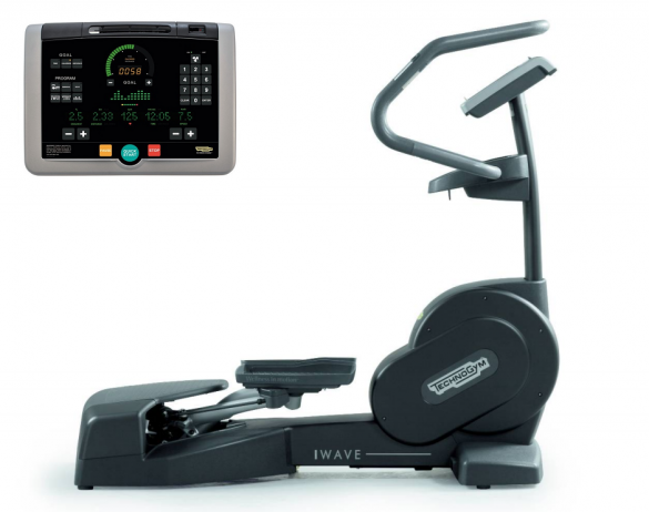 TechnoGym lateral trainer Wave Excite+ 700i black used  BBTGWE700IZW