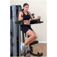 Body-Solid Vertical Knee Raise and Dip Station