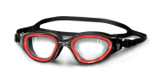 BTTLNS Ghiskar 1.0 clear lens goggles black/red