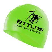 Silicone swimcap green