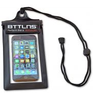 Waterproof phone pouch black