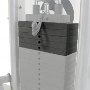 Life Fitness extra weight stack 23 kilograms
