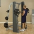 Body-Solid ProClub Line counter-balanced smith machine  SCB1000