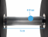 Muscle Power dumbbellset urethane 32 - 40 kg  FMP51D4B/32-40KG